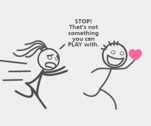 heart, boy, and play image