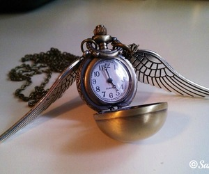 golden snitch, hp, and orologio image