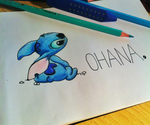 stitch, draw, and disney image
