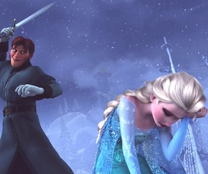 frozen, hans, and elsa image