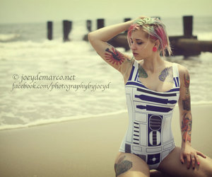 r2d2, summer, and tattoo image