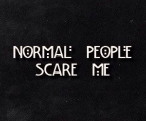american horror story, normal, and ahs image