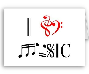 music, love, and i love music image