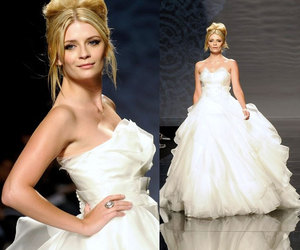 Barcelona, gowns, and wedding dresses image
