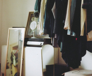 clothes, vintage, and mirror image