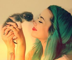 blue, cute, and bluehair image