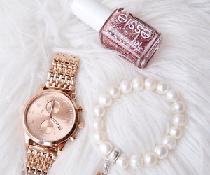 fashion, watch, and essie image