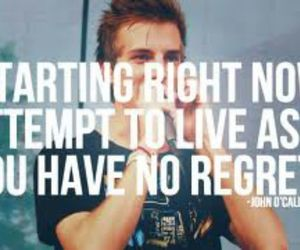 john, no regrets, and the maine image