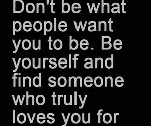 be yourself and love image