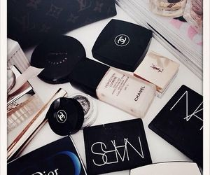chanel, dior, and nars image