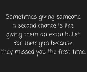 bullet, gun, and second chance image
