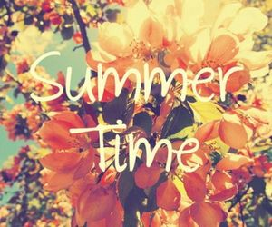 summer, flowers, and time image