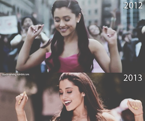 ariana grande, baby i, and put your hearts up image