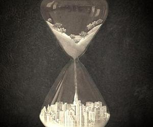 art, hourglass, and photography image