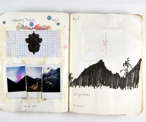 book, diary, and art image
