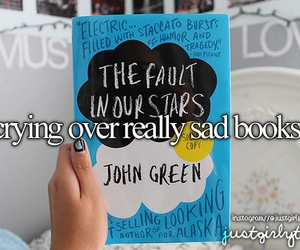 book, sad, and just girly things image