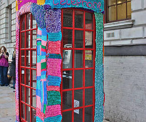 london, telephone, and colorful image