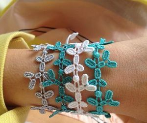 blue, bracelet, and cruciani image