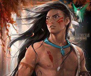 sakimichan, deviantart, and disney princess image