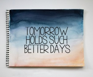 quote, tomorrow, and life image