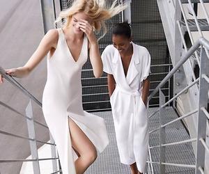 model, fashion, and Zara image