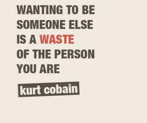 quotes, kurt cobain, and waste image
