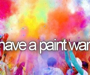 paint and war image