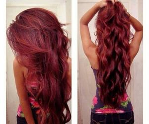 beautiful, curls, and Hot image