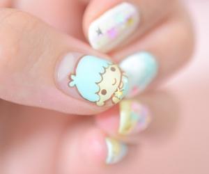 cute, nails, and kawaii image