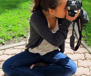 photography, canon, and girl image