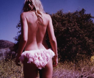 blond, girl, and panties image