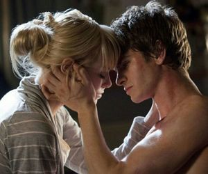 love, andrew garfield, and emma stone image