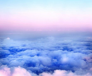 beautiful, clouds, and view image