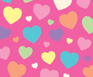 colorfull, pink, and sweet image