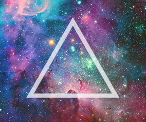 colors, galaxy, and hipster image