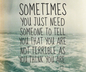 quote, terrible, and life image