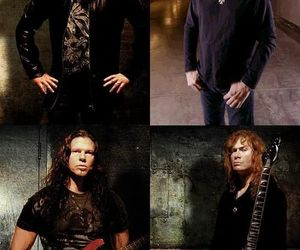 dave mustaine, david ellefson, and megadeth image