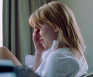 Scarlett Johansson and sad image
