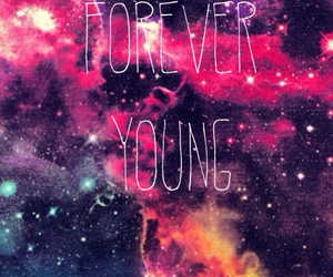 Forever Young and galaxy image