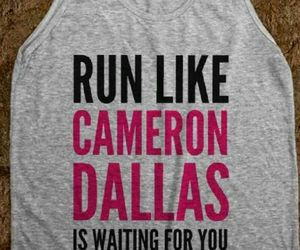 funny, t shirt, and running image