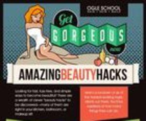 beauty, diy, and hacks image