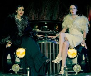 car, ladytron, and women image