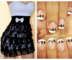 look, unhas, and black and white image