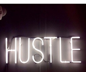 hustle and sign image