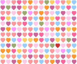 hearts and wallpaper image