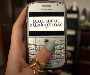 blackberry, nails, and rings image