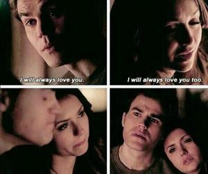 stelena, tvd, and love image