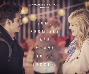promise, spiderman, and emma stone image