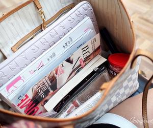 bag, fashion, and magazine image