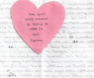 love, romance, and quote image